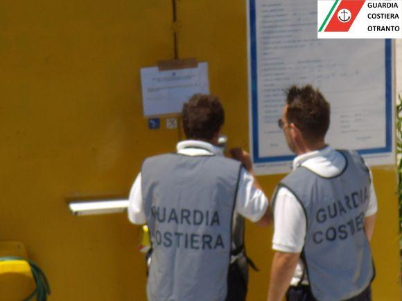 Guardia Costiera a San Foca
