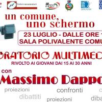 Giuggianello, Massimo Dapporto e la bellezza del cinema