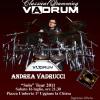 Il 16 a Uggiano il batterista salentino dei record: Vadrum in concerto