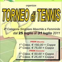 Tennis Otranto, al via il Torneo nazionale di 4° categoria