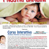 Disostruzione pediatrica, corso di primo soccorso a Otranto