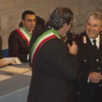 Onorificenza conferita dal Comune di Otranto al maresciallo Gagliani