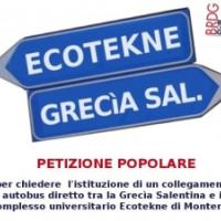 Dal 1 Marzo parte il servizio Otranto – Ecotekne