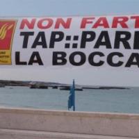 San Foca manifesta contro la Tap, ma non basta