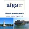 Consiglio Direttivo Nazionale Aiga, evento nazionale tra Brindisi e Lecce