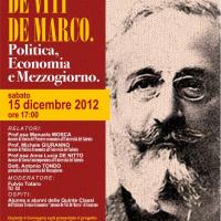Antonio De Viti De Marco in un seminario a lui dedicato
